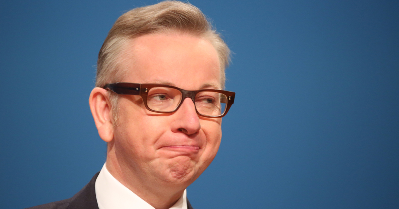 Gove enters Conservative leadership race and gets Morgan's backing