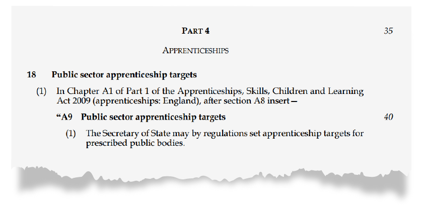 New apprentice rules will squeeze school finances