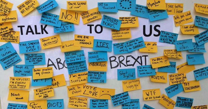 Pupils' Brexit letter triggers voting age debate