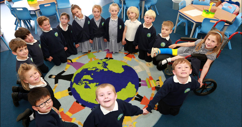 Science lab in £8m primary building