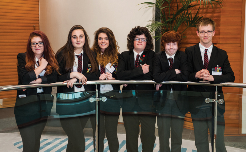 Featured: Party plan wins pupils £1,000 start-up fund