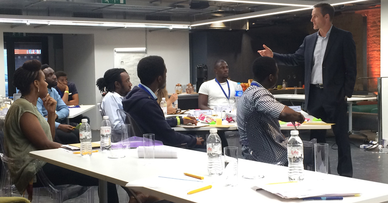 Amos Bursary students take part in digital workshop