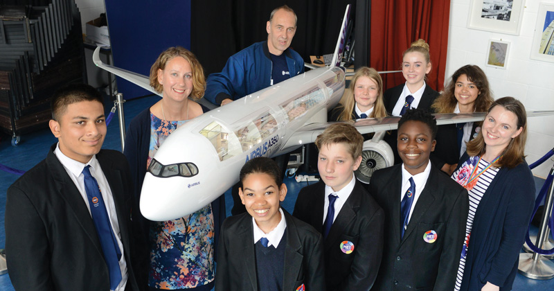 The sky's the limit for Bristol students