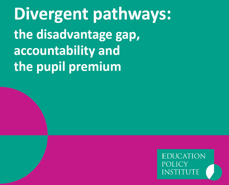 Closing the gap: New report calls for schools to publish disadvantaged pupil progress results on their websites