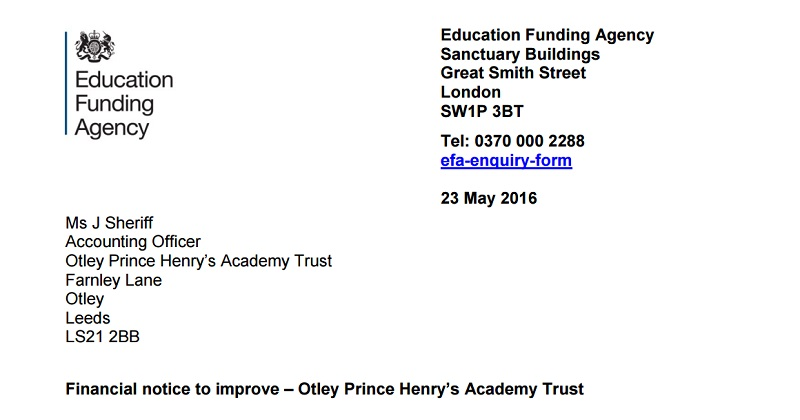 Prince Henry's Grammar and Manchester Creative Studio warned about finances