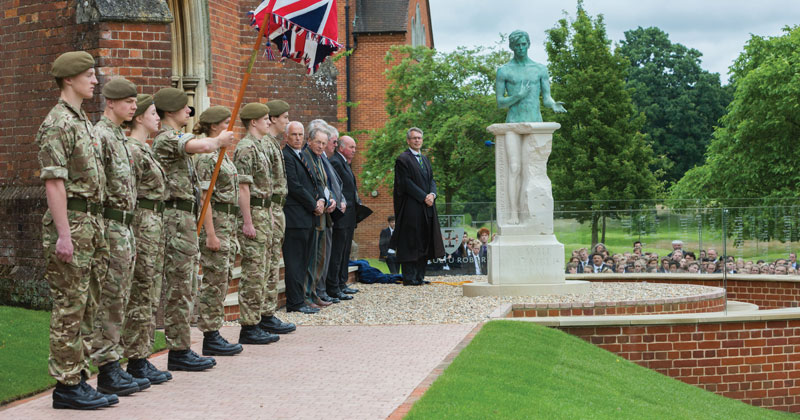 Cranleigh School marks Somme anniversary