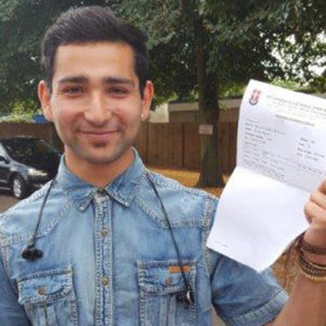 Refugee Haroon travels his way to university
