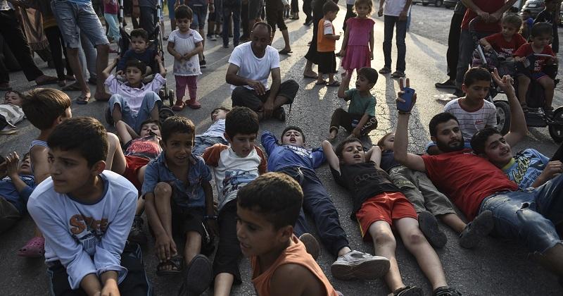 Just 30 refugee children resettled in UK before start of term