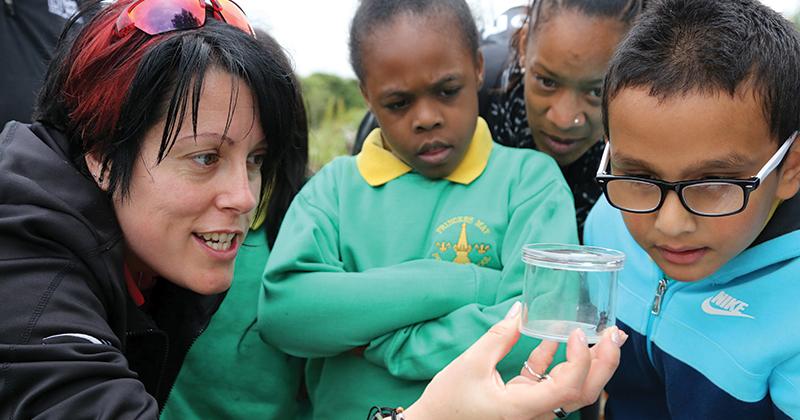 Outdoor award for 10,000 acre classroom