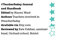 #Teacher5aday Journal and Handbook
