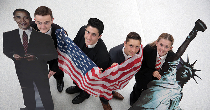 Star pupils to earn their stripes in US election