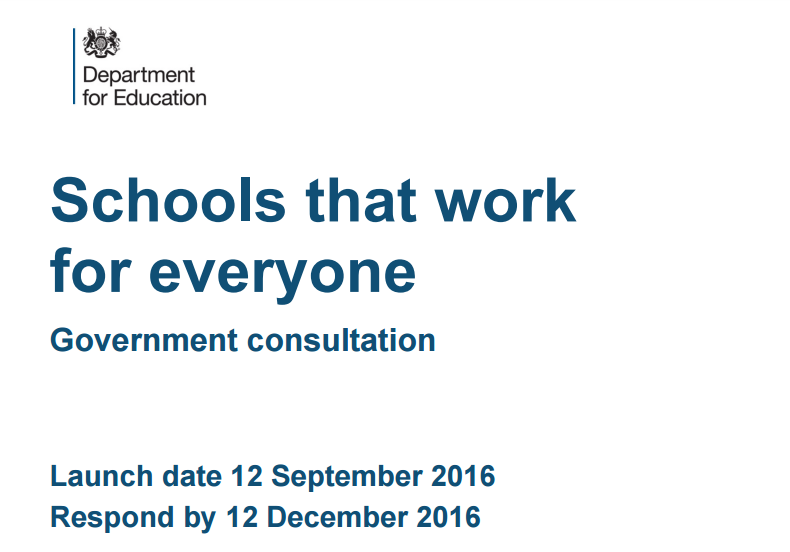 Grammar schools green paper: The 12 policy recommendations