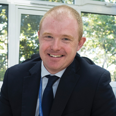 Jarlath O'Brien, headteacher, Carwarden House community school