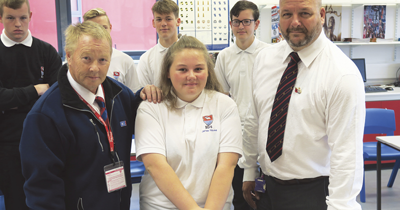 First aid lessons help pupil to save her dad's life after recognising early signs of a heart attack