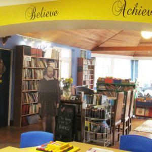 Cumbria school opens quirky new library in an effort to get more pupils reading
