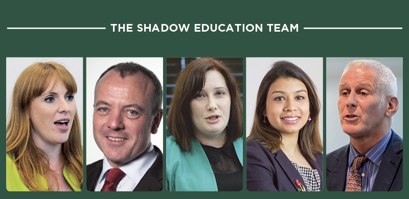 Shadow education team has the right experience, says Labour