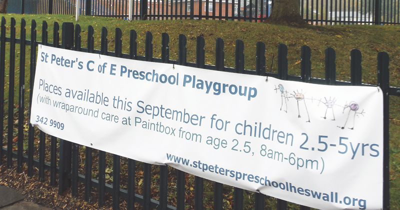 Feeder pre-school charges £275 'retainer fee' for free nursery place