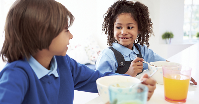 EEF trial finds breakfast clubs more effective than infant free school meals