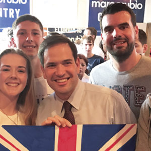 Sixth-formers who campaigned for Clinton in the US are now considering political careers