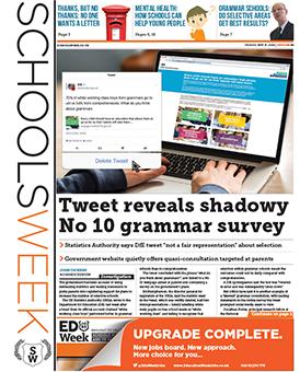 READ MORE: Stats watchdog slams DfE for grammar schools tweet