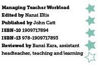 Managing Teacher Workload, edited by Nansi Ellis
