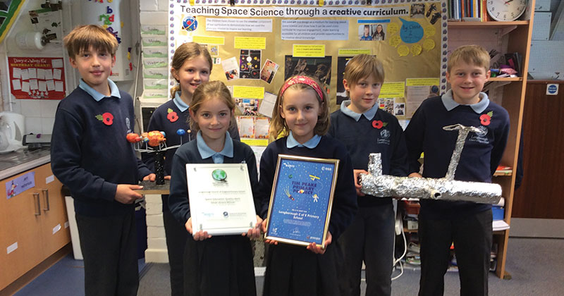 School awarded Space Education Quality Mark for out-of-this-world curriculum