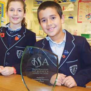 Prep school recognised for its outstanding STEM provision
