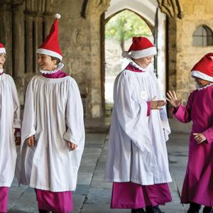 The secret life of choir-school choristers at Christmas