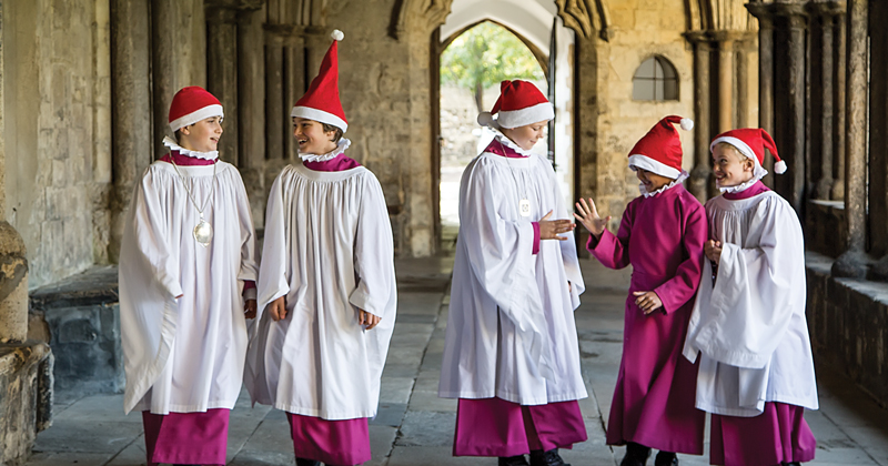 The secret life of choir-school choristers at Christmas