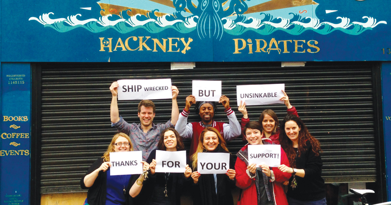 Christmas appeal: literacy charity Hackney Pirates needs help to get shipshape again