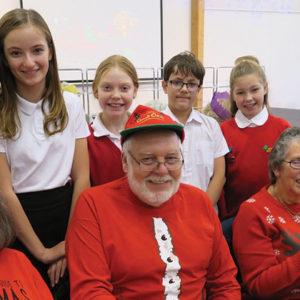 Somerset school hosts Christmas bash for 100 senior citizens