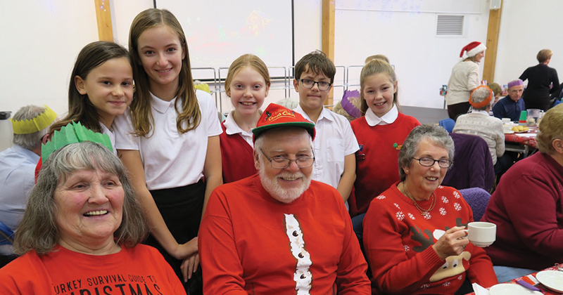 Somerset school hosts Christmas bash for 100 senior citizens