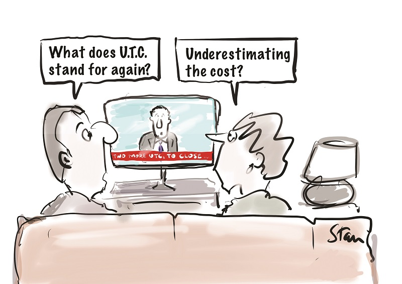 Two more UTCs struggling: one planning to become a secondary, the other facing takeover