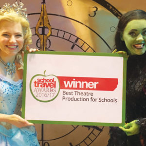 Musical Wicked voted best theatre production to go and see on a school trip
