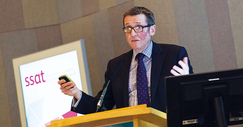 SSAT 2016: Numeracy and literacy focus narrowed the curriculum, says Sean Harford