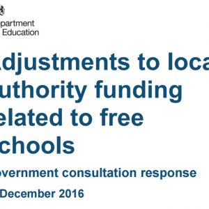 Councils must estimate free school pupil numbers under funding change