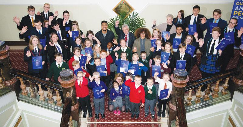 """Diversity dancers """"honoured"""" to reward pupil achievements"""