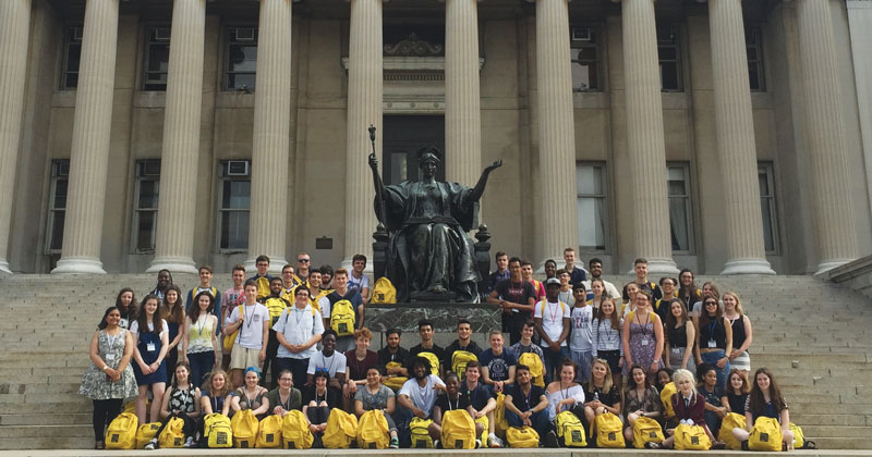 Sutton Trust sends 42 state school pupils to summer school at top US universities