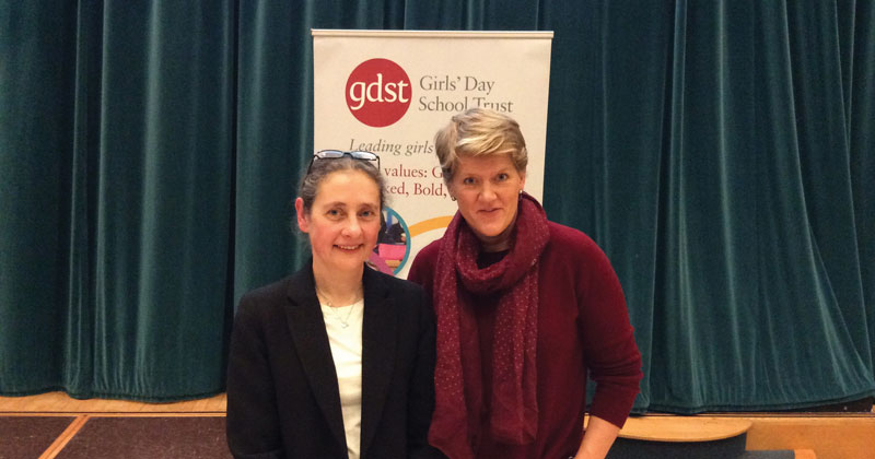 Broadcaster Clare Balding takes body-positive message to schools