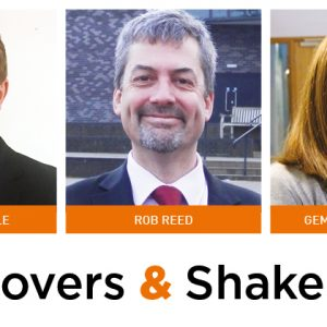 Movers & Shakers: Matthew Little, Rob Reed and Gemma Rothenburg