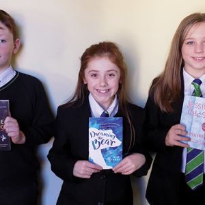 Young author to be judged by award-winning writers