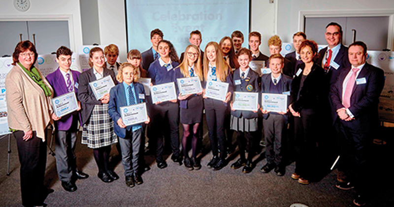 Seventeen pupils take top accolades in aluminium design challenge
