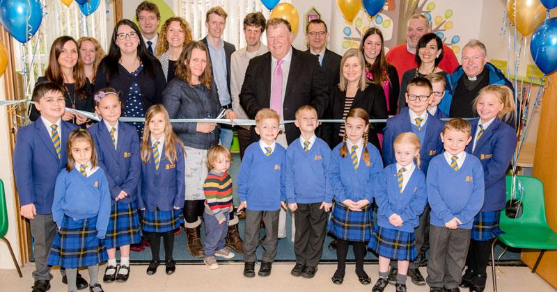 Children's author opens new school library