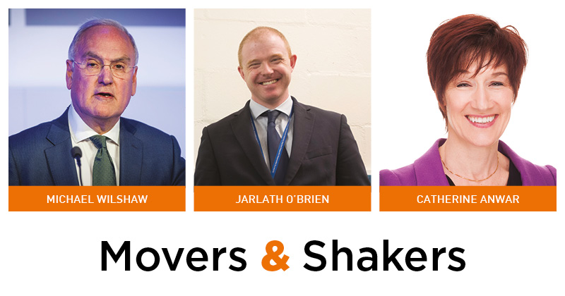 Movers & Shakers: Michael Wilshaw, Jarlath O'Brien and Catherine Anwar