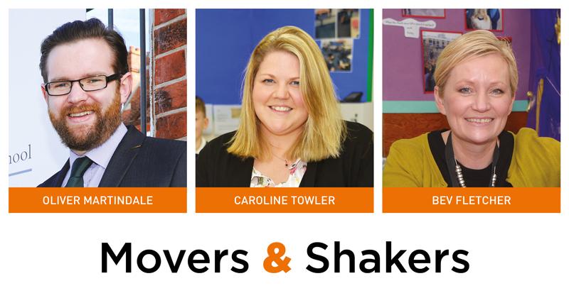 Movers & Shakers: Oliver Martindale, Caroline Towler and Bev Fletcher
