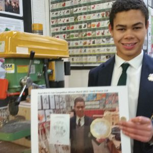 School 'terrifically proud' of pupil who designed new £1 coin two years ago