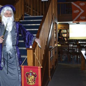 School library transforms into Hogwarts for themed book night