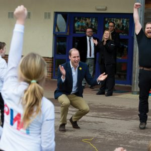 Prince William launches national awards scheme for schools