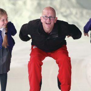 Eddie the Eagle backs campaign to get schoolchildren into snowsports