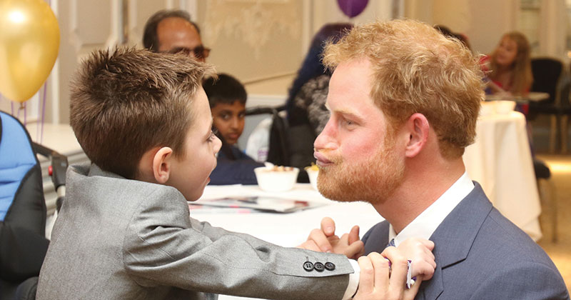 School choirs now have the chance to sing for Prince Harry